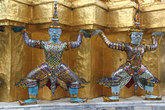 Wat Phra Kaew temple, Thailand royalty free stock images