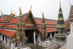 Wat Phra Kaew temple, Thailand royalty free stock photography