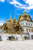 Wat Phra Kaew or the Temple of Thailand in bangkok Stock Image