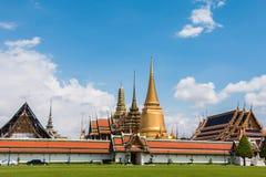 Wat Phra Kaew, templo da esmeralda Buddha Fotografia de Stock
