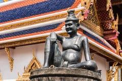 Wat Phra Kaew, templo da esmeralda Buddha Imagem de Stock