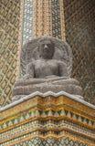 Wat Phra Kaew (templo da esmeralda Buddha), Banguecoque Tailândia fotografia de stock