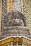 Wat Phra Kaew (templo da esmeralda Buddha), Banguecoque Tailândia fotos de stock royalty free