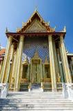 Wat Phra Kaew, templo de Emerald Buddha, Banguecoque, Tailândia Fotografia de Stock Royalty Free