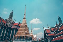 Wat Phra Kaew fotos de archivo