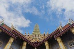 Wat Phra Kaew, templo del Buddha esmeralda Imágenes de archivo libres de regalías