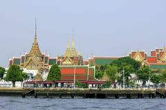 Wat Phra Kaew, templo en Bangkok fotos de archivo libres de regalías