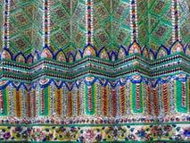 Wat Phra Kaew textur Arkivbild