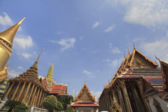 Wat Phra Kaew Thai Authentic Architecture Stock Photography