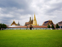 Wat Phra Kaew, Thailand. Wat Phra Kaew The Emerald Buddha Temple, Thailand stock photo