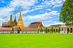 Wat Phra Kaew in Thailand Stock Photos