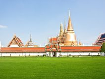 Wat phra kaew in thailand Royalty Free Stock Photo