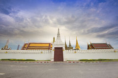 Wat phra kaew. In Thailand royalty free stock images