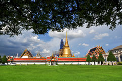 Wat Phra Kaew. In thailand royalty free stock photo