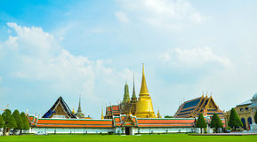 The Wat Phra Kaew Of Thailand Bankok Royalty Free Stock Images