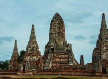 Wat Chai Watthanaram Royalty Free Stock Photography