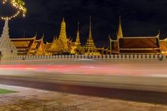 Wat Phra Kaew (Wat Phra Si Rattana Satsadaram) Lizenzfreie Stockfotografie