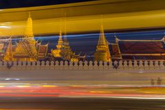 Wat Phra Kaew (Wat Phra Si Rattana Satsadaram) Lizenzfreie Stockbilder