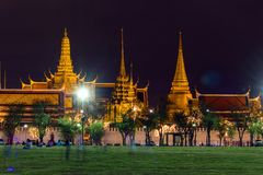 Wat Phra Kaew (Wat Phra Si Rattana Satsadaram) Stockfoto