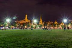 Wat Phra Kaew (Wat Phra Si Rattana Satsadaram) Stockbild