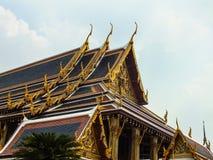 Wat Phra KaewTemple de Emerald Buddha 2 Imágenes de archivo libres de regalías