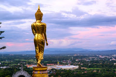 Wat Phra That Kao Noi with beautiful sky Stock Images