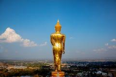 Wat Phra That Kao Noi ha costruito durante i ventitreesimo-venticinquesimi secoli buddisti Fotografia Stock Libera da Diritti