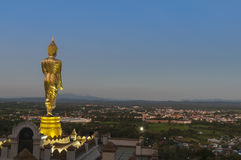 Wat Phra которое Kao Noi, Nan, Таиланд Стоковое Изображение