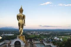 Wat Phra That Kao Noi Nan, Thailand Fotografering för Bildbyråer