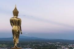 Wat Phra That Kao Noi Nan, Thailand Royaltyfri Foto