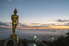 Wat Phra That Kao Noi Nan, Thailand Royaltyfri Bild