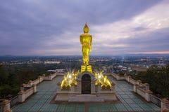 Wat Phra That Kao Noi at Nan Royalty Free Stock Image