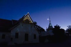 Wat Phra That Kao Noi, Nan, Thaïlande Photographie stock