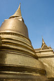 Wat Phra Keaw Golden Stupa Royalty Free Stock Photography