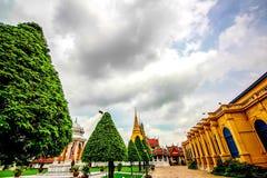 Wat Phra Keaw& x28;Temple of Emerald Buddha& x29; royalty free stock photo