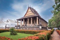 Wat Phra Keo в Вьентьян, Лаосе стоковое фото rf