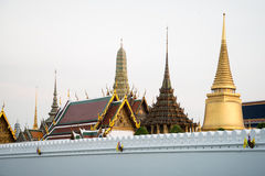 Wat Phra Keo Bangkok Tailandia Immagine Stock Libera da Diritti