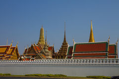 Wat Phra Keo Bangkok Thaïlande Image stock