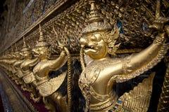 Wat Phra Keo, Banguecoque, Tailândia imagens de stock