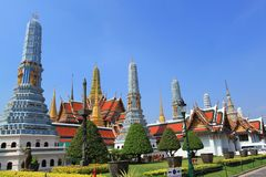 Wat Phra Keow, Bangkok, Thailand. Royalty Free Stock Photography