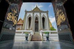 Wat Phra Keow. The royal temple in Bangkok, Thailand, is located near Bangkok grand palace royalty free stock images