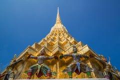 Wat Phra Keow. The royal temple in Bangkok Stock Photography