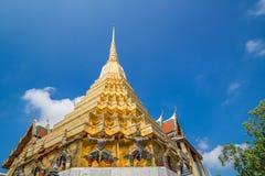 Wat Phra Keow. The royal temple in Bangkok Stock Image