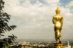 Wat Phra That Khao Noi, Nan Province, Thailand Stock Images