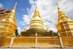 Wat Phra Który brzęczenia Duang, Lamphun Tajlandia Obraz Royalty Free