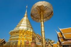 Wat Phra Który Doi Suthep w Chiang Mai, Tajlandia Obraz Royalty Free