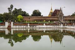 Wat Phra Który Lampang Luang, sławna świątynia w Lampang, Tajlandia Obraz Stock