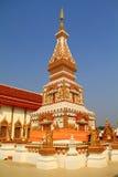 Wat Phra Który Si Khun, Nakhon Phanom Obraz Royalty Free