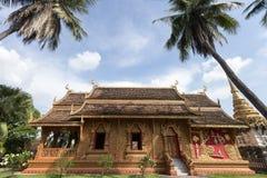 Wat Phra该Lampang Luang 免版税图库摄影