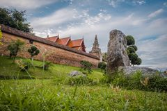 Wat Phra That Lampang Luang. The ancient temple in Thailand. Wat Phra That Lampang Luang. The ancient temple in Lampang district, north of Thailand. Landscape stock images